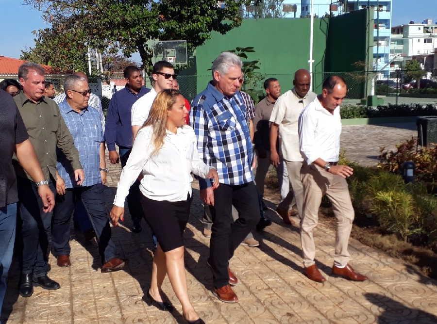 cuba, miguel diaz-canel, presidente de la republica de cuba, la habana, aniversario 61 del triunfo de la revolucion