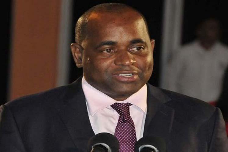 """""""Espero que quienes han tenido interés en nuestra nación, lo mantengan"""", remarcó Skerrit. (Foto: PL)"""