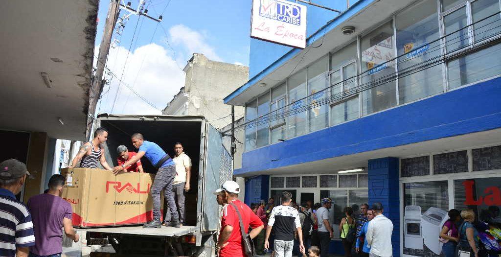 sancti spiritus, economía cubana, mlc, moneda libremente convertible, tarjetas magnéticas, cadena de tiendas caribe