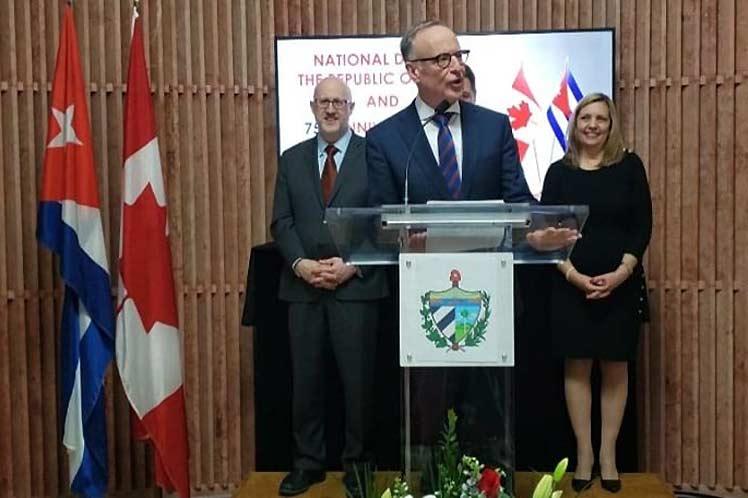 El diputado canadiense Robert Oliphant expresó que Cuba no es solo un 'aliado económico fundamental'. (Foto: PL)