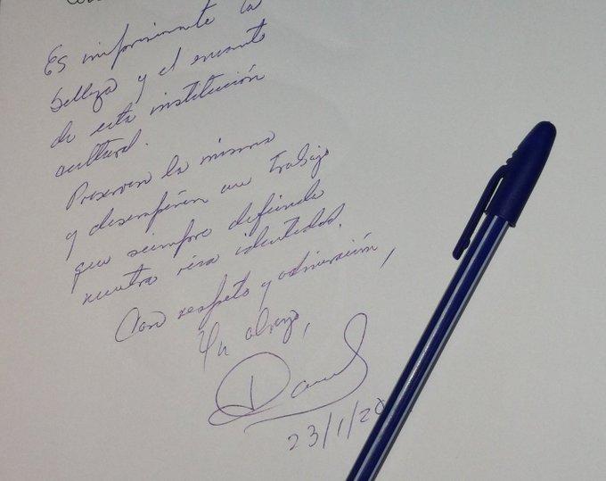 Mensaje de Díaz-Canel al Museo de Arte Colonial. (Foto: Presidencia de la República)
