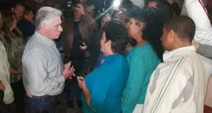 Díaz-Canel, Sancti Spíritus, visita gubernamental