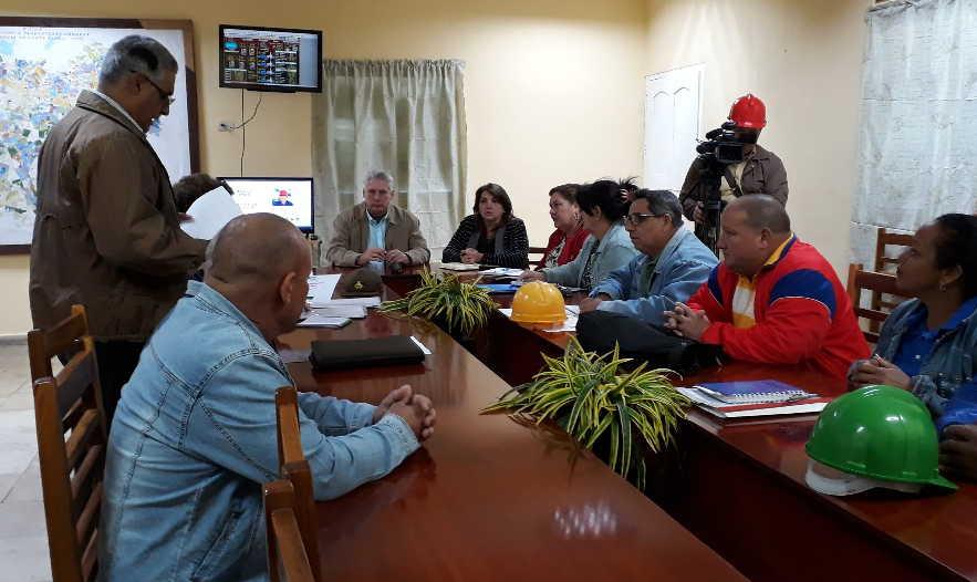 sancti spiritus, miguel diaz-canel bermudez, presidente de la republica de cuba, central de uruguay