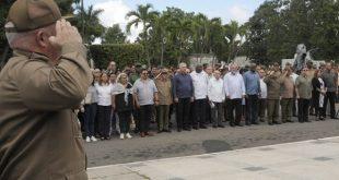 Asela de los Santos, Raúl Castro, Díaz-Canel