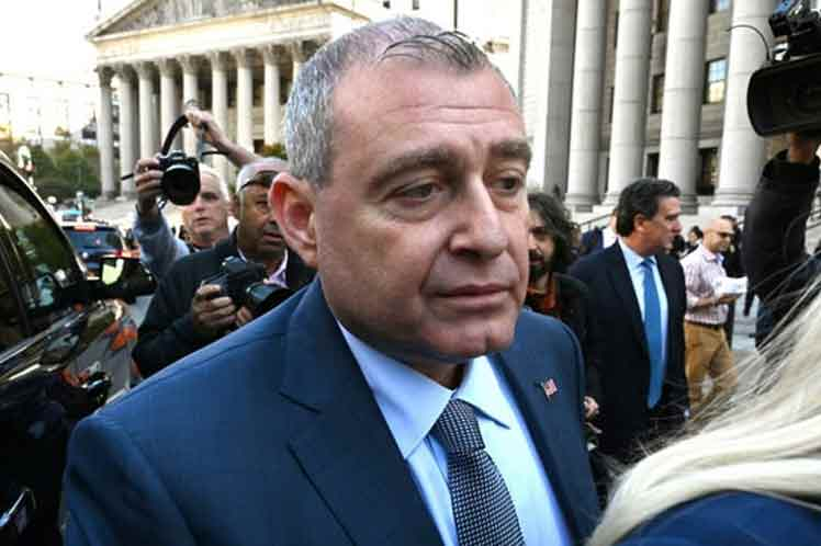 Lev Parnas, una de las figuras implicadas en los sucesos. (Foto: PL)