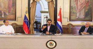 Cuba, Venezuela, cooperación, Nicolás Maduro