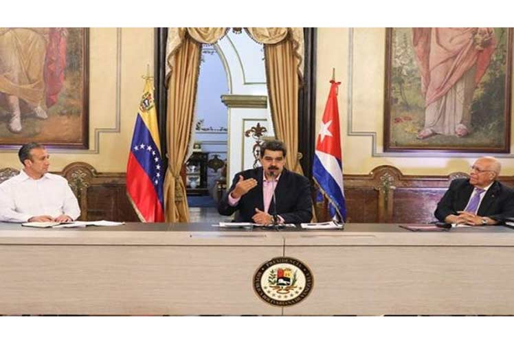 El presiente bolivariano puntualizó que las relaciones de Cuba con Venezuela se han centrado en términos de ganar-ganar. (Foto: PL)