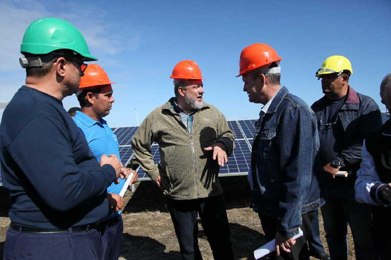 yaguajay, manuel marrero cruz, primer ministro, construccion de viviendas, parque fotovoltaico
