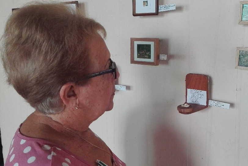 Pieza premiada en el evento José Martí, la ecología y las artes. (Foto: Lisandra Gómez)