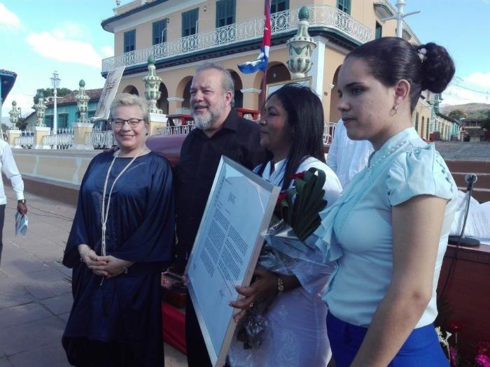 Asiste Primer Ministro cubano a celebraciones por aniversario 506 de la ciudad de Trinidad