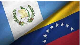 El presidente guatemalteco anunció la ruptura de las  relaciones diplomáticas con Venezuela.