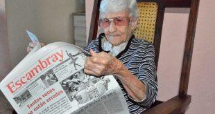 Periódico, Escambray, aniversario, Chiquitica