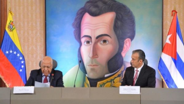 La XX Reunión de la Comisión Intergubernamental para afianzar la cooperación entre Cuba y Venezuela. (Foto: @CancilleriaVB)