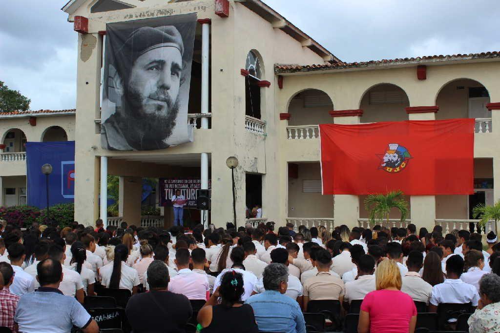sancti spiritus, ujc, union de jovenes comunistas, XI congreso de la ujc