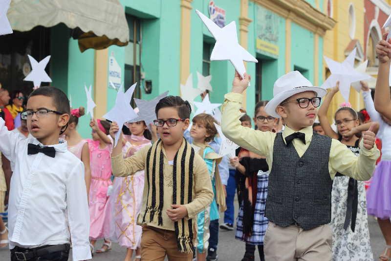 sancti spiritus, desfile martiano, jose marti