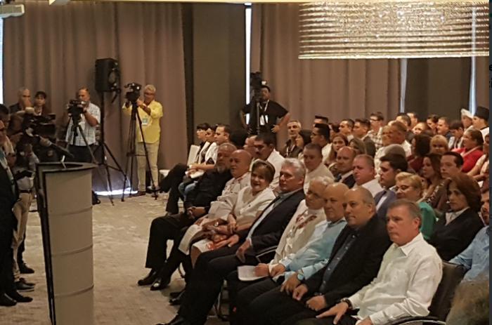 cuba, miguel diaz-canel, presidente de la republica de cuba, manuel marrero, primer ministro, seguridad alimentaria