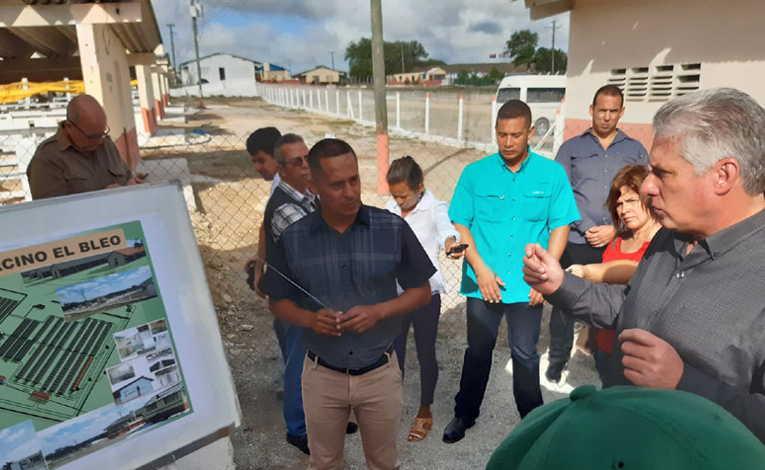 las tunas, miguel diaz-canel, presidente de la republica de cuba