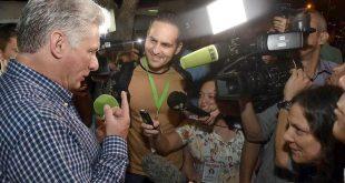 cuba, miguel diaz-canel, presidente de la republica de cuba, relaciones cuba-estados unidos, bloqueo de eeuu a cuba