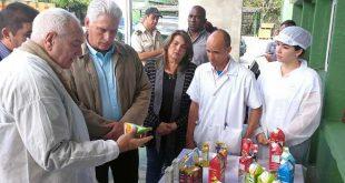 sancti spiritus, miguel diaz-canel bermudez, presidente de cuba en sancti spiritus, canasta basica