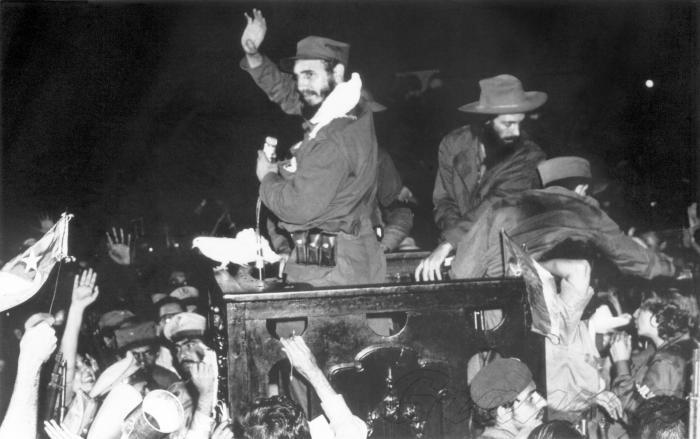 la habana, fidel castro, revolucion cubana, aniversario 61 del triunfo de la revolucion, caravana de la libertad