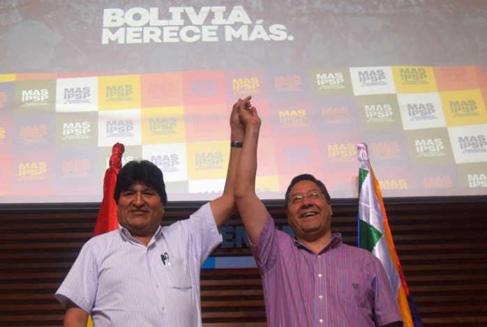Suspenden audiencia de candidato del MAS a presidencia de Bolivia