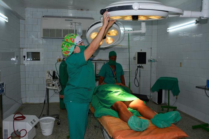 sancti spiritus, salud publica, hospitales, inversiones, hospital provincial camilo cienfuegos