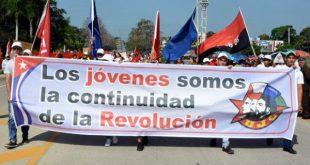 cuba, ujc, XI congreso de la ujc, union de jovenes comunistas