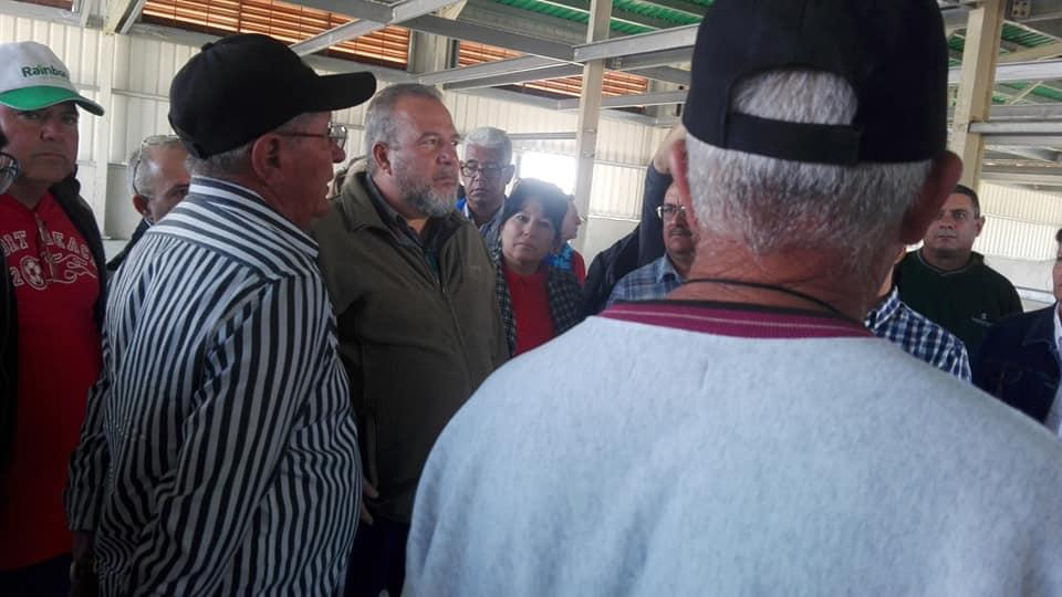 sancti spiritus, primer ministro de cuba, manuel marrero, tabaco, agricultura urbana