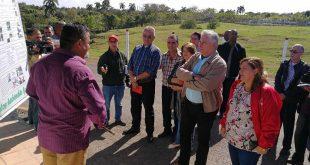 sancti spiritus, managuaco, empresa pecuaria managuaco, miguel diaz-canel, presidente de cuba en sancti spiritus