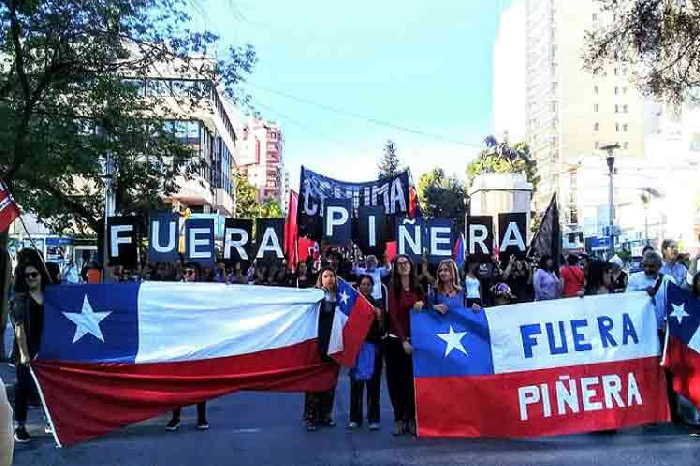 chile, derechos humanos, sebastian piñera, manifestaciones
