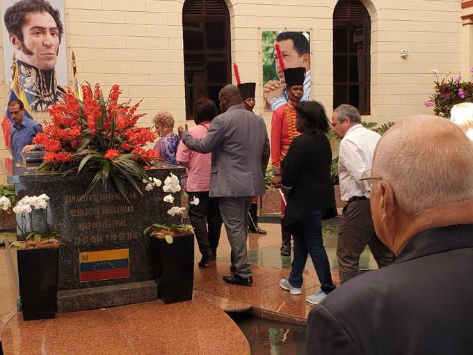 cuba, venezuela, cooperacion cuba-venezuela, ricardo cabrisas, hugo chavez