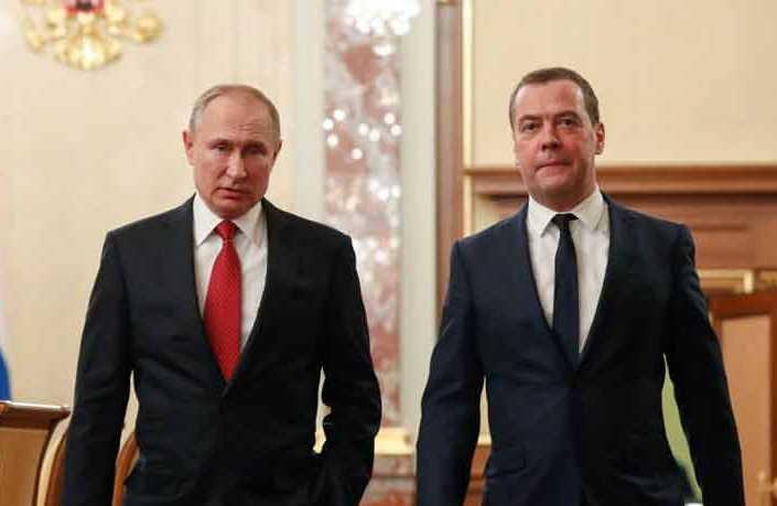 rusia, vladimir putin, dmitri medvedev