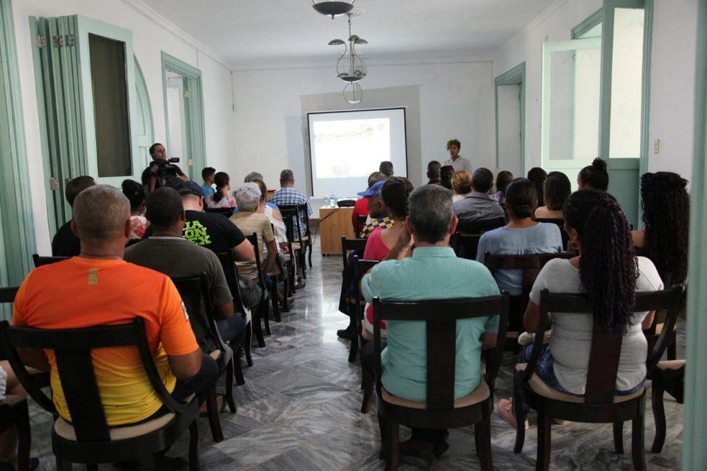 La Casa Malibrán fue sede de la presentación de la página web de la Oficina del Conservador de la Ciudad.