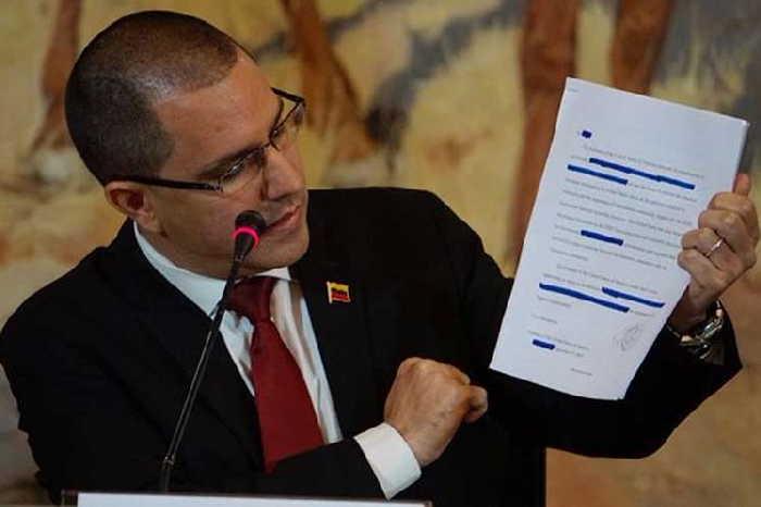 venezuela, jorge arreaza, injerencia, estados unidos, relaciones estados unidos-venezuela, asamblea nacional