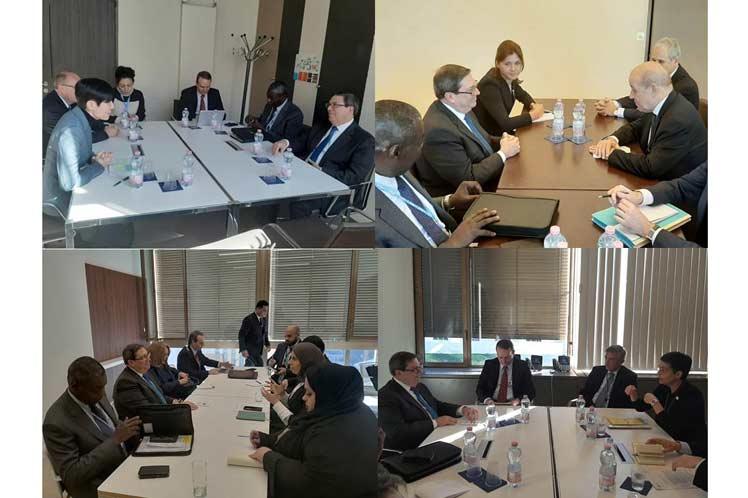 Las partes abordaron el estado de las relaciones bilaterales y las posibilidades de potenciarlas. (Foto: PL)