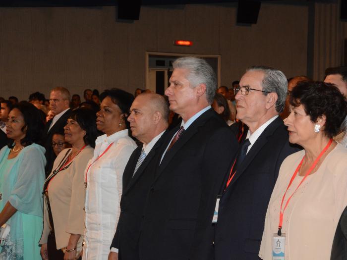 El Congreso Internacional de Educación Superior Universidad 2020 fue inaugurado con la asistencia del presidente cubano. (Foto: Estudios Revolución)