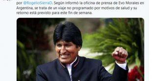 Evo Morales, Salud, Bolvia