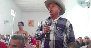 trinidad, anap, campesinos, XII congreso de la anap, produccion de alimentos