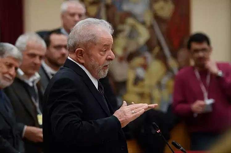 'Conozco a la Fiscalía. Hay mucha mala fe, hay mucha frivolidad', dijo en su testimonio Lula. (Foto: PL)