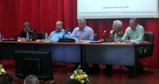 cuba, ministerio de energia y minas, miguel diaz-canel, presidente de la republica de cuba, manuel marrero, primer ministro