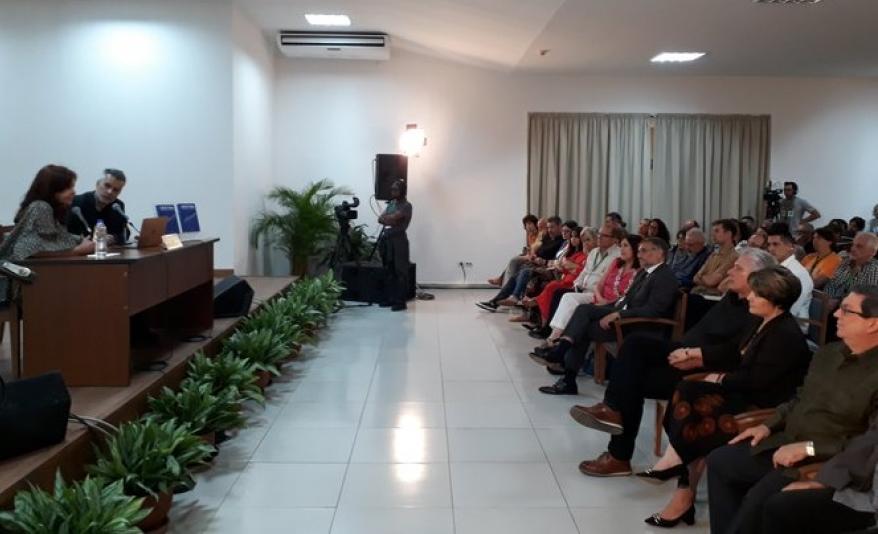 cuba,. argentina, feria internacional del libro, cristina fernandez, miguel diaz-canel, presidente de la republica de cuba