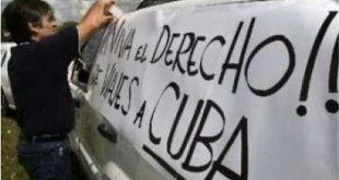 cuba, estados unidos, alianza martiana, viajes, bloqueo de eeuu a cuba