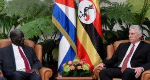 Cuba, Uganda, Díaz-Canel