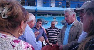 sancti spiritus, miguel diaz-canel, presidente de cuba en sancti spiritus, economia espirituana