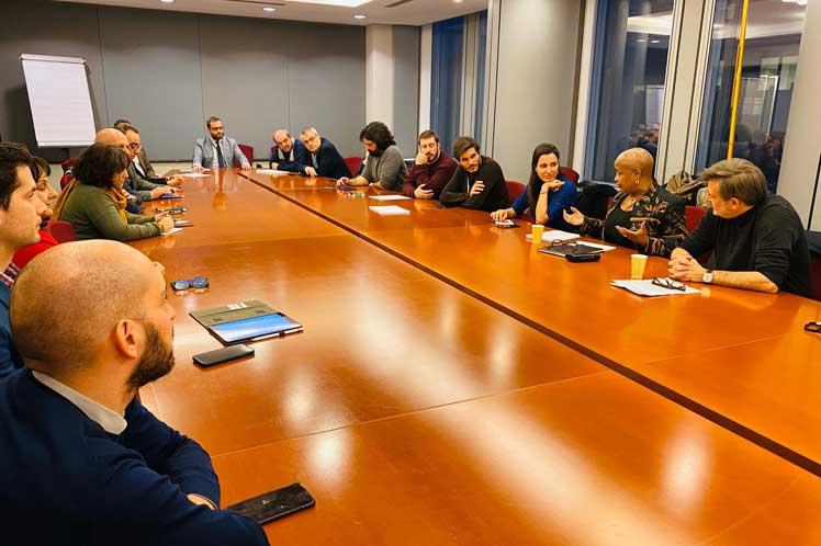 La agrupación demandó el fin del cerco impuesto a Cuba por Washington desde hace casi 60 años. (Foto: PL)