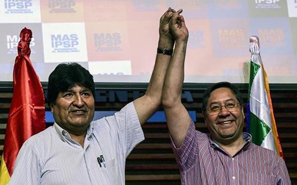 bolivia, evo morales, bolivia elecciones, golpe de estado, luis arce, mas