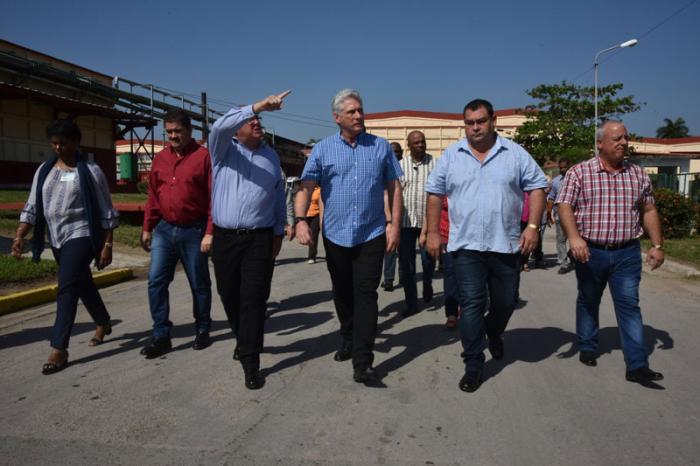 cienfuegos, miguel diaz-canel, presidente de la republica de cuba