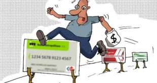 sancti spiritus, tarjetas magneticas, tiendas recaudadoras de divisa, cimex, banco popular de ahorro, banco de credito y comercio