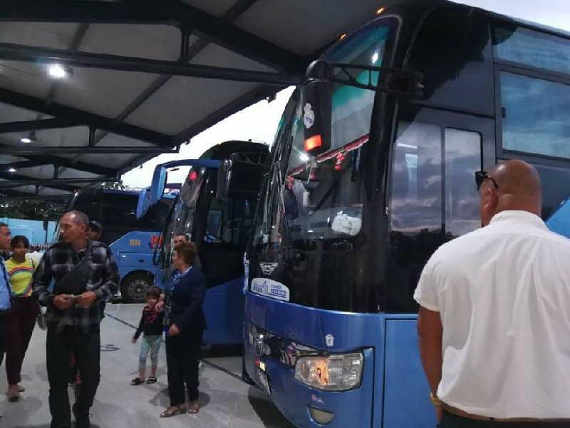 sancti spiritus, terminal de omnibus, omnibus nacionales