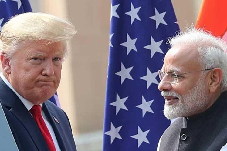 El primer ministro Modi afirmó que Estados Unidos es una importante fuente de petróleo y gas para India. (Foto: PL)